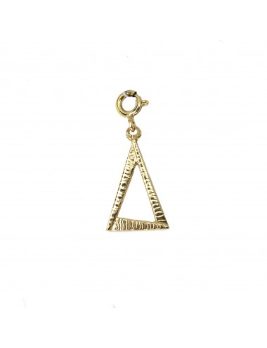CHARM YOMIME EYE OF PROVIDENCE IN STERLING SILVER VERMEIL