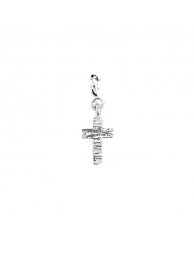 CHARM YOMIME CROSS IN STERLING SILVER