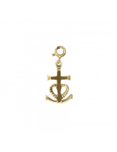 CHARM YOMIME CAMARGUE CROSS IN STERLING SILVER VERMEIL