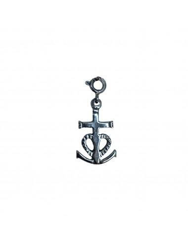 CHARM YOMIME CAMARGUE CROSS IN DARK STERLING SILVER