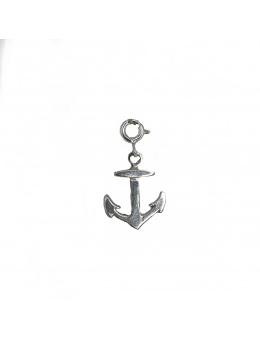 CHARM YOMIME ANCHOR IN DARK STERLING SILVER
