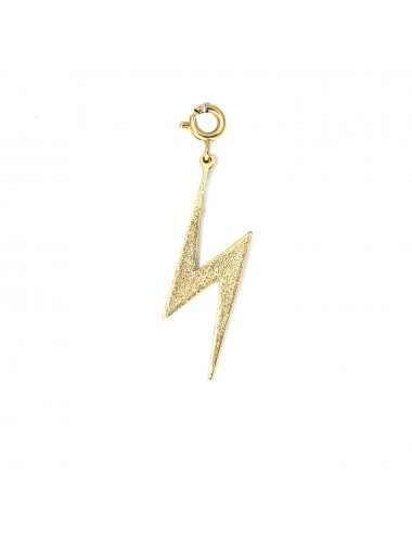 ICONS BY ALDO CHARM LIGHTNING IN STERLING SILVER VERMEIL