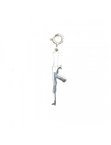 ICONS BY ALDO CHARM AK47 IN STERLING SILVER