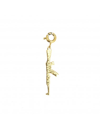 ICONS BY ALDO CHARM AK47 IN STERLING SILVER VERMEIL
