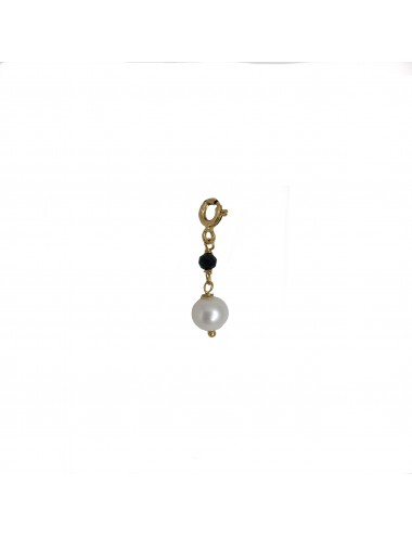 ICONS BY ALDO CHARM NATURAL PEARL IN STERLING SILVER VERMEIL