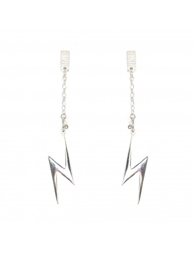 ICONS BY ALDO EARRINGS LIGHTNING IN STERLING SILVER