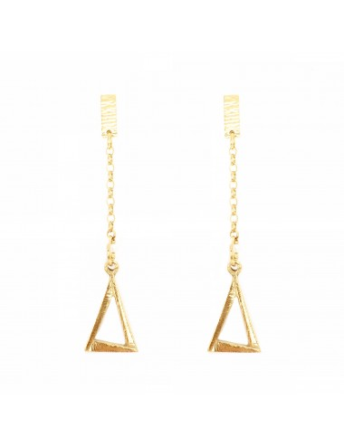 ICONS BY ALDO EARRINGS EYE OF PROVIDENCE IN STERLING SILVER VERMEIL