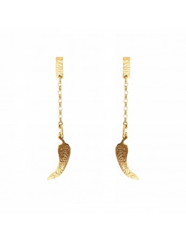 ICONS BY ALDO EARRINGS CHILI IN STERLING SILVER VERMEIL