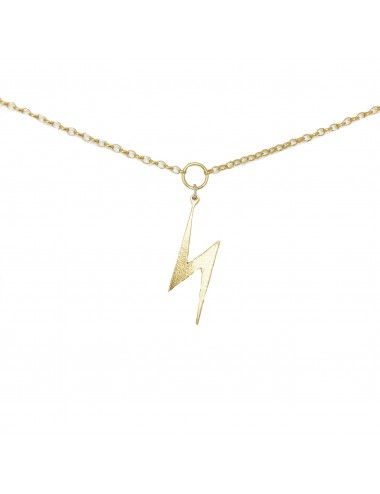 ICONS BY ALDO NECKLACE LIGHTNING IN STERLING SILVER VERMEIL
