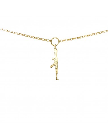 ICONS BY ALDO NECKLACE AK47 IN STERLING SILVER VERMEIL