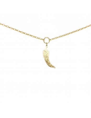 ICONS BY ALDO NECKLACE CHILI IN STERLING SILVER VERMEIL