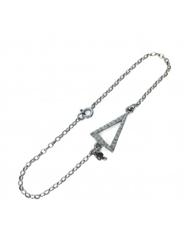 ICONS BY ALDO BRACELET EYE OF PROVIDENCE IN DARK STERLING SILVER