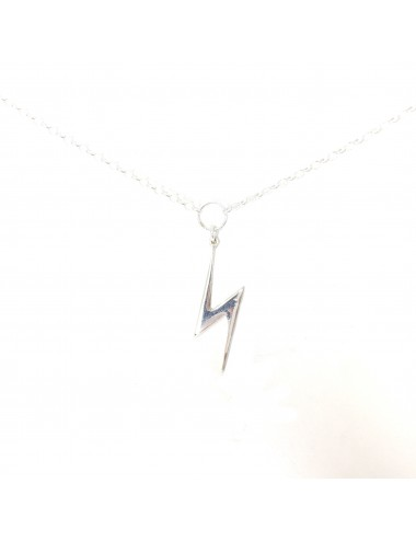 ICONS BY ALDO NECKLACE LIGHTNING IN STERLING SILVER
