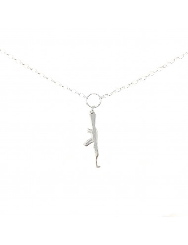 ICONS BY ALDO NECKLACE AK47 IN STERLING SILVER