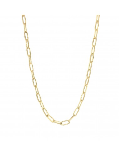 skyline chain necklace 50cm in sterling silver vermeil