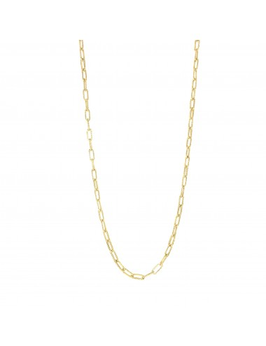 skyline chain necklace 60cm in sterling silver vermeil