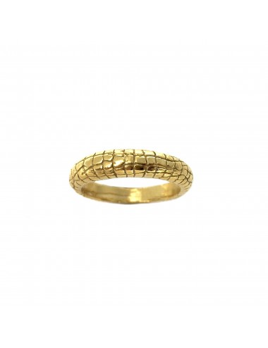 Nile Thin Ring in Sterling Silver Vermeil
