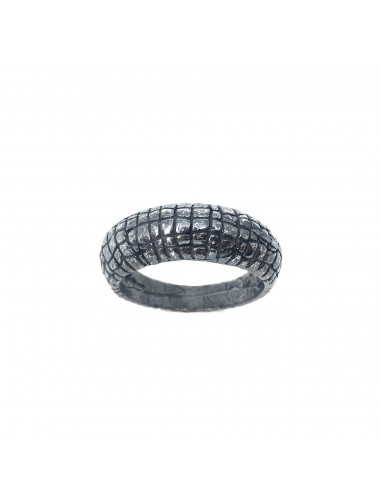 Nile Ring in Dark Sterling Silver