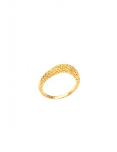 Dunes Ring in Sterling Silver Vermeil