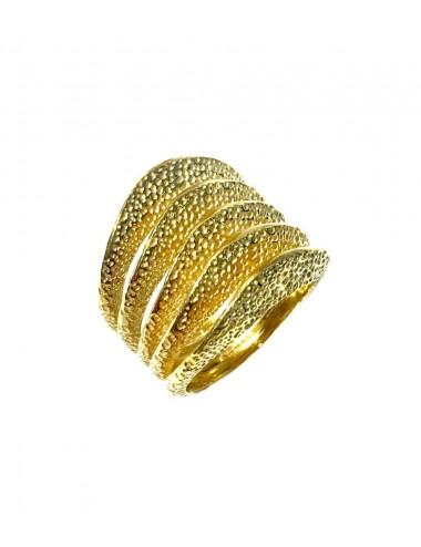Dunes Five Ring in Sterling Silver Vermeil