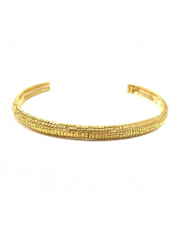 Nile Bangle Bracelet in Sterling Silver Vermeil