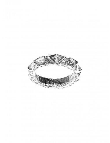Punki Ring in Sterling Silver
