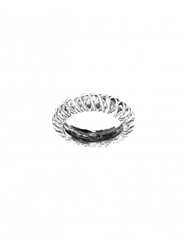 Punki Rhombus Ring in Sterling Silver