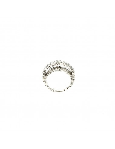 Punki Moon Ring in Sterling Silver