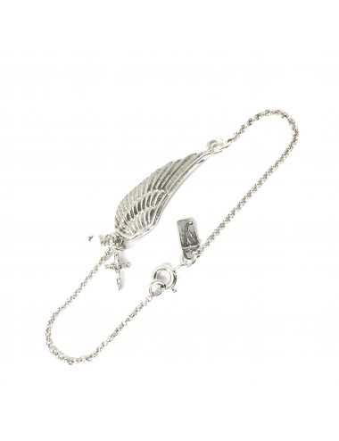 Punki Wing Bracelet in Sterling Silver