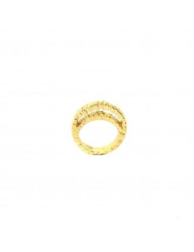 Punki Moon Ring in Sterling Silver Vermeil
