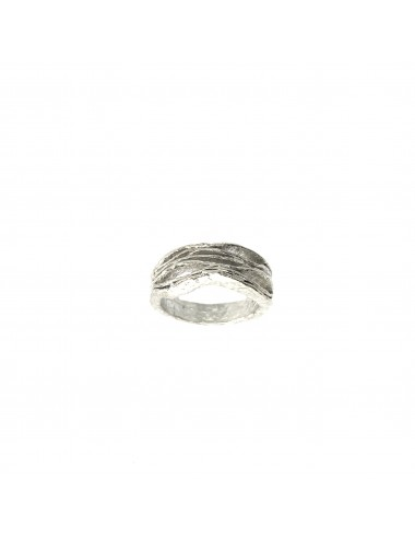 Satellite Waves Ring in Sterling Silver