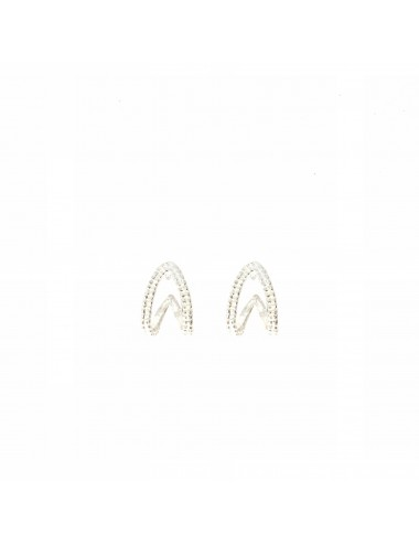 Satellite Oval Criollas Earrings in Sterling Silver